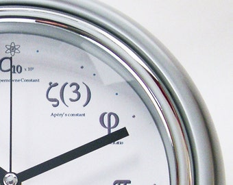 Geek Clock - I'll meet you at PI for Pie