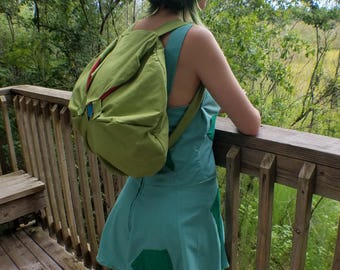 Bulbasaur Bulb Backpack - Pokemon Themed Backpack for Cosplay Conventions, School or Everyday Use