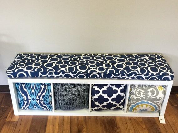 ikea kallax custom cushion playroom nursery organization. Black Bedroom Furniture Sets. Home Design Ideas