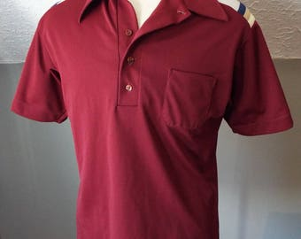 Vintage Short Sleeve Bowling Shirt by King Louie
