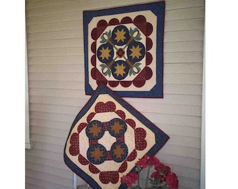Summer Serenade Table Topper Pattern Deanne Eisenman Country Fat Quarter Quilting Sewing Project