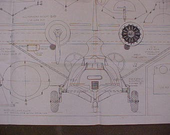 Consolidated PBY-5a Amphibian Model Airplane Plan 81 Inch Wing Span