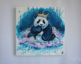 Panda Dreamin' Original Painting