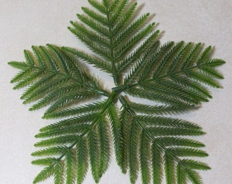 Fairy Garden Miniature ferns: artificial sprays of feathery ferns