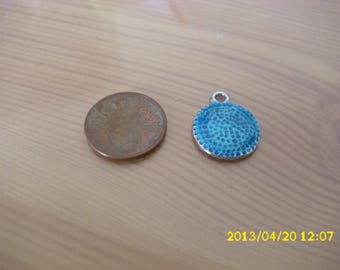 turquoise blue medal
