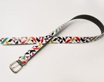 Design Belt   BE0041   multi color