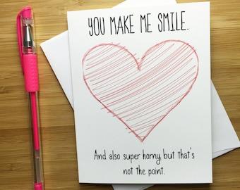 Love card etsy naughty love card sexy card for boyfriend girlfriend raunchy gift i love you m4hsunfo