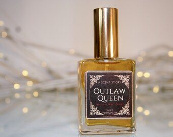 Outlaw Queen Women's Fragrance // Once Upon a Time TV Show inspired // Fragrance Collection // Gifts for her // Regina