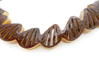 DNA Single Helix, Gift for Geneticist, Gift for Biologist, Genetics, Science Teacher Gift, Biology Teacher Gift, Gift for Physician