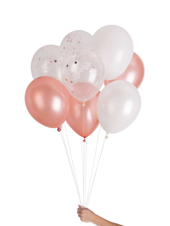 Rose Gold Balloons Decor Baby Shower