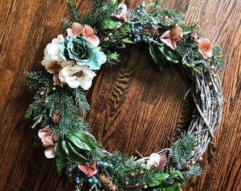 Winter Wreath (Custom)