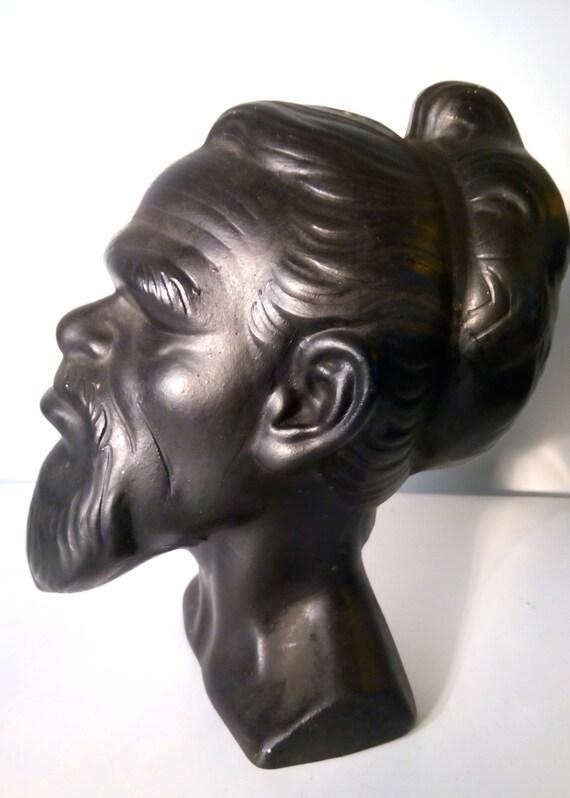 1960s Alexandertakacs Aboriginal Bust Head Mid 20th Century