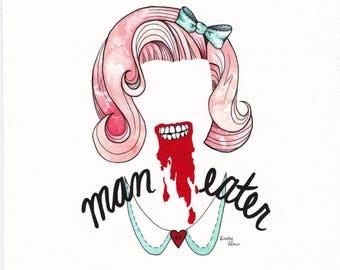 Man Eater PRINT