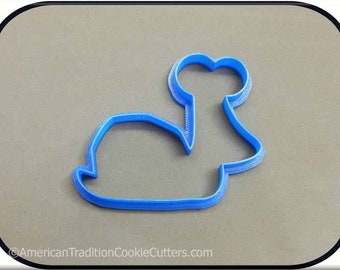 "4"" Snail 3D Printed Cookie Cutter"