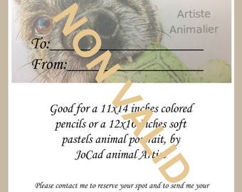 Gift certificate - Large artwork