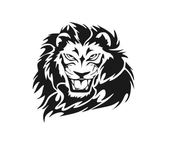Download Lions Mascot Football high school college SVG File Cutting