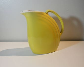 Mid-Century Hall Canary Yellow Serving Pitcher