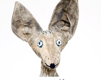 WOLF by KTZAY #handmade  #wolfdoll #enchanteddaydreams #dollmaking #alienqueen #facehugger #hrgiger  #wolfportrait #knitteddoll #wolf