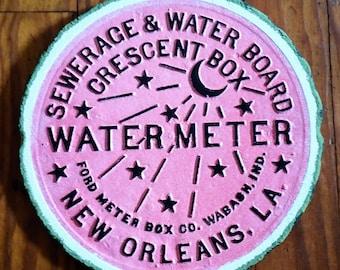 New Orleans Water Meter - Watermelon Slice!