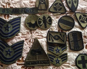 Military patch Etsy