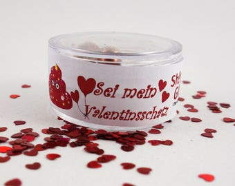 STG-the original glitter pills-Valentine's Edition (5 pills filled with the glamour of Love) for your sweetheart or your friends
