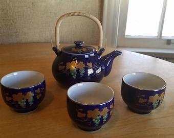 Vintage Set of 4 Tea Set