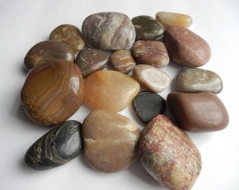 Old Unearthed Kentucky Polished Stones!