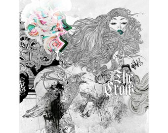 The Crow art print by Hubert Fine Art