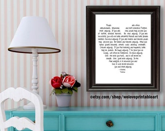 Mother Teresa, Motivational Wall Decor, Inspirational Quote Print, Inspirational Wall Art, Motivational Quote Poster, Inspirational Sign