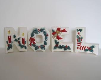 Vintage Lipper and Mann Noel Letters