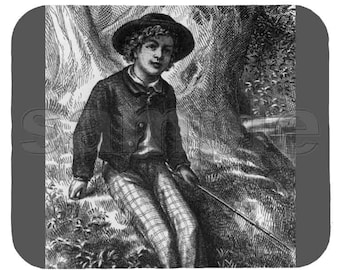 Mouse Pad; Tom Sawyer, Adventures Of
