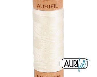 Aurifil 80wt - Chalk 2026
