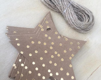 12 Stars Gift Tags