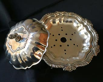 Vintage Compote Dish with insert