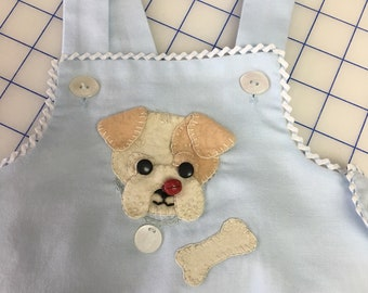 Baby size 6 month button up sunsuit