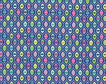 Tula Pink - Tabby Road - Cat Eyes - PWTP095-BLUEB