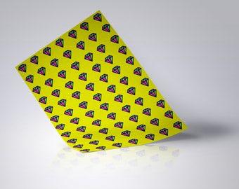 Diamond Retro Wrapping Paper