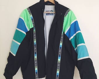 Vintage Sporty/ Retro Jacket- Unisex