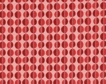 Riley Blake Fiona's Fancy by Lia Tueller- Red Dots Fabric- 1/2 yard