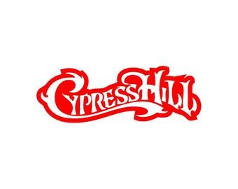 Cypress Hill Iron On Logo