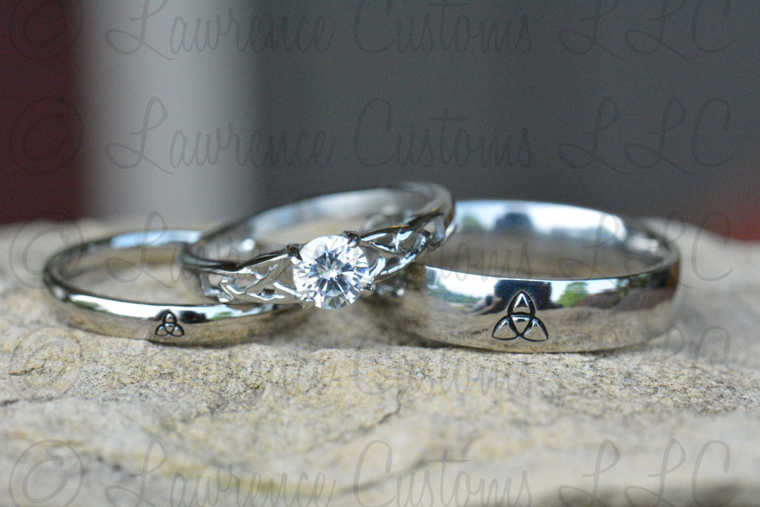 zoomen - Irish Wedding Ring Sets