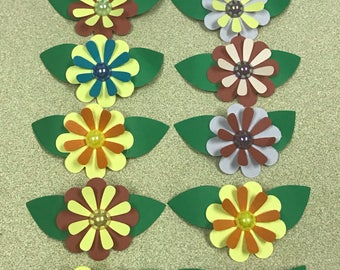 Paper Flowers Embellishments