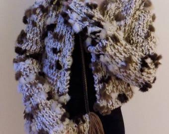 Hand Knit Boxy Jacket