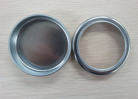 Small Round Windows: 24 Small Round Tin Box With Window Lid 5cm X 2 Cm