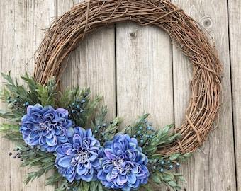 Year Round Wreath~Spring Wreath~Front Door Wreath~Grapevine Wreath~Summer Wreath~Farmhouse Wreath~Everyday Wreath~Spring Decor~Spring Door