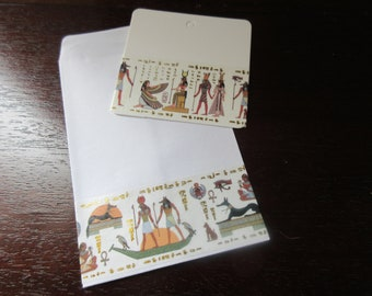 Egypt COLLECTION: 40 pockets + 24 labels decorated with Egyptian masking