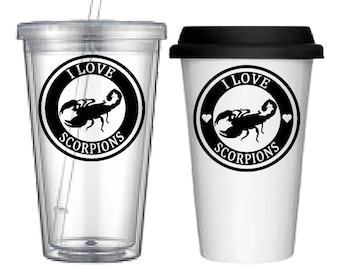 Cup:Scorpion(4 designs to choose from!)