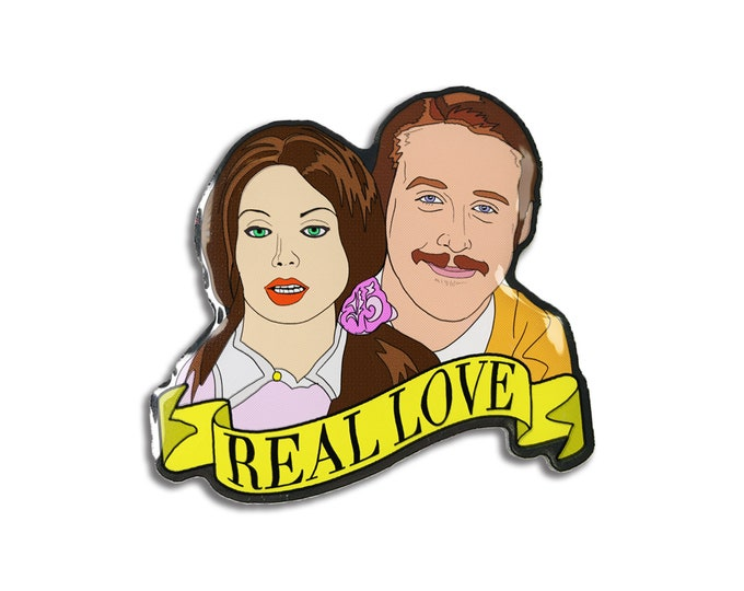 Real Love Pin