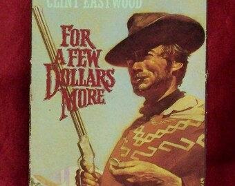 For A Few Dollars More VHS Clint Eastwood