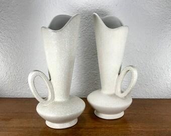 China Craft USA Spatterware Ewers | Pottery Pitchers